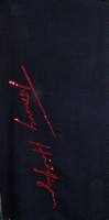 TOMMY HILFIGER Foulard SIGNATURE SEQUINS SCARF en noir  - medium