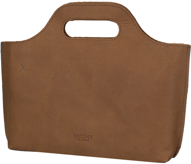 MYOMY Sac à main MY CARRY BAG MINI en taupe - large