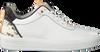 FRED DE LA BRETONIERE Baskets basses 101010129 FRS0673 en blanc  - small