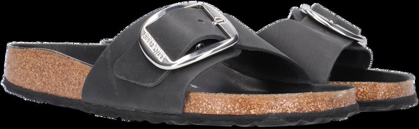 Zwarte BIRKENSTOCK PAPILLIO Slippers MADRID BIG BUCKLE  - larger