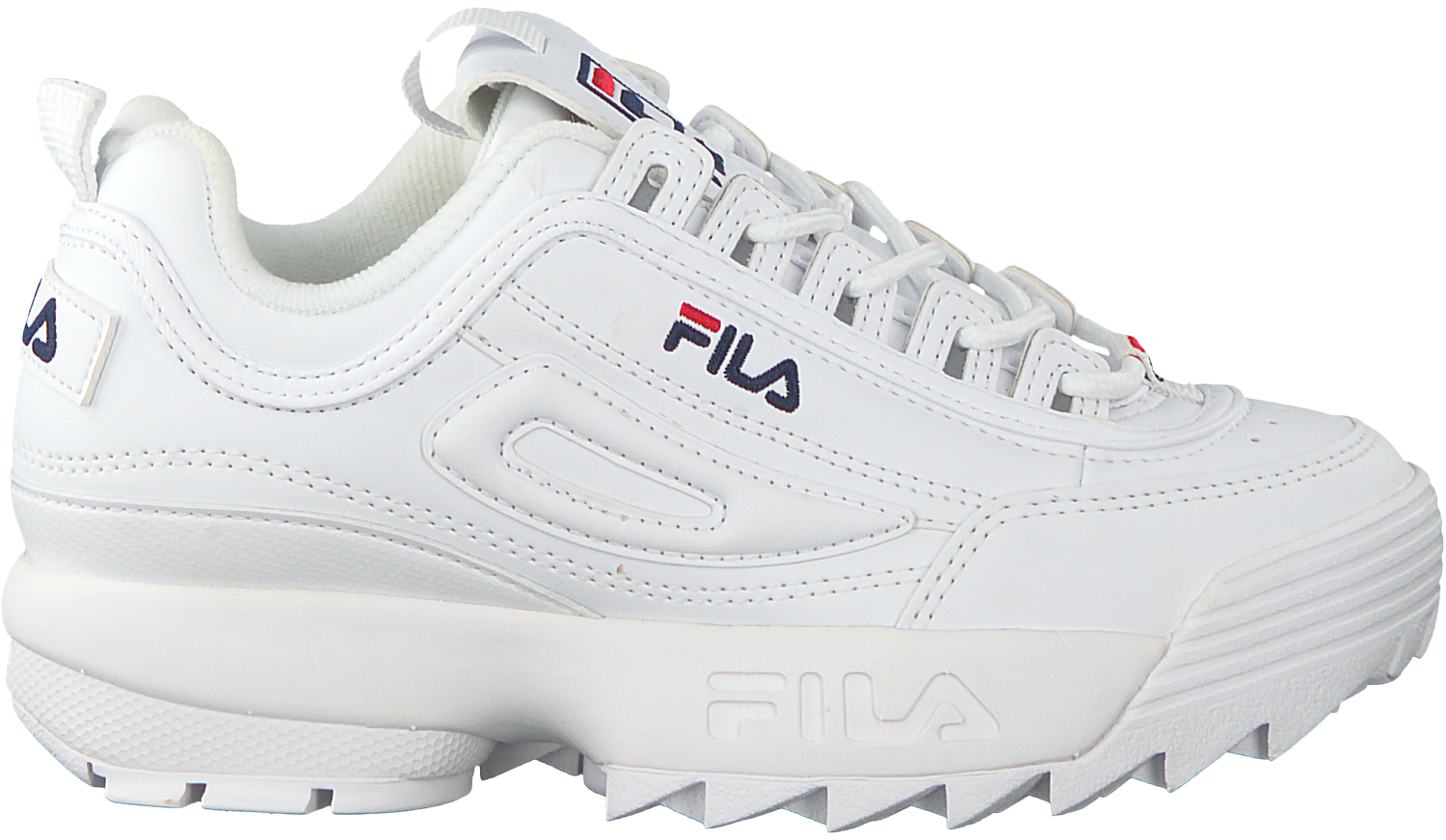 Omoda Fila Kds 1010567 Disruptor Witte Sneakers be ZWq80