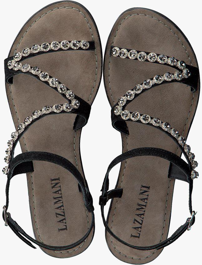 Black LAZAMANI shoe 75.582  - larger