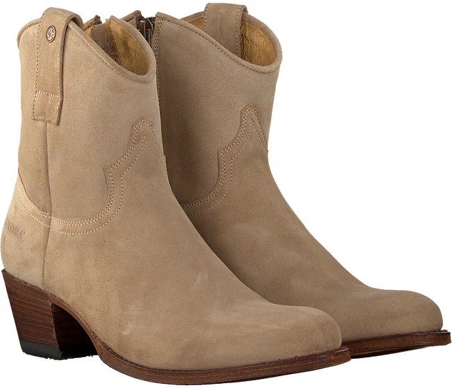 SENDRA Bottines 16751 en beige  - large