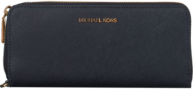 MICHAEL KORS Porte-monnaie TRAVEL CONTINENTAL en bleu - large