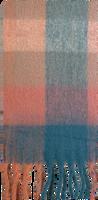 Roze YEHWANG Sjaal SOFT CHECKERED  - medium