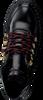 NUBIKK Bottines à lacets FAE STELLA FUR en noir  - small
