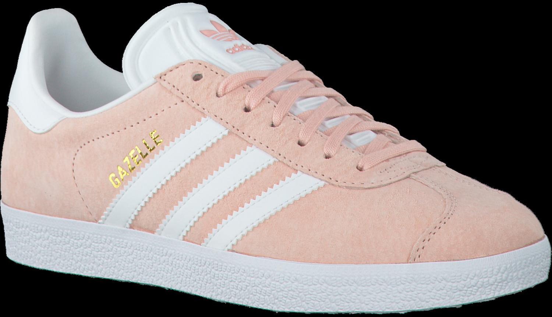adidas gazelle grijs roze