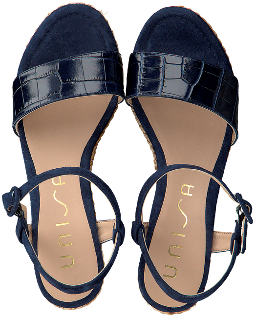 UNISA Sandales LUPA en bleu  - large