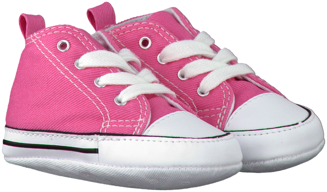 CONVERSE Chaussures bébé FIRST STAR en rose - large