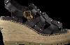 NOTRE-V Sandales OM02-02 en noir  - small