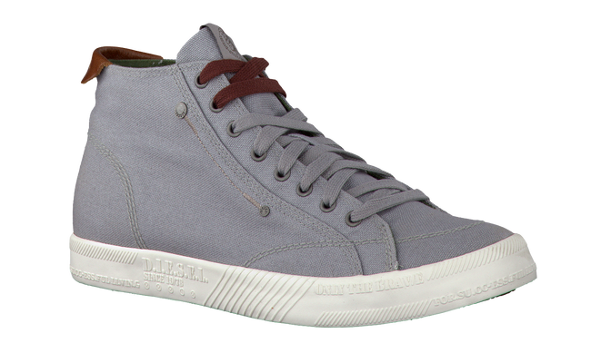 DIESEL Baskets Y000781 en gris - large