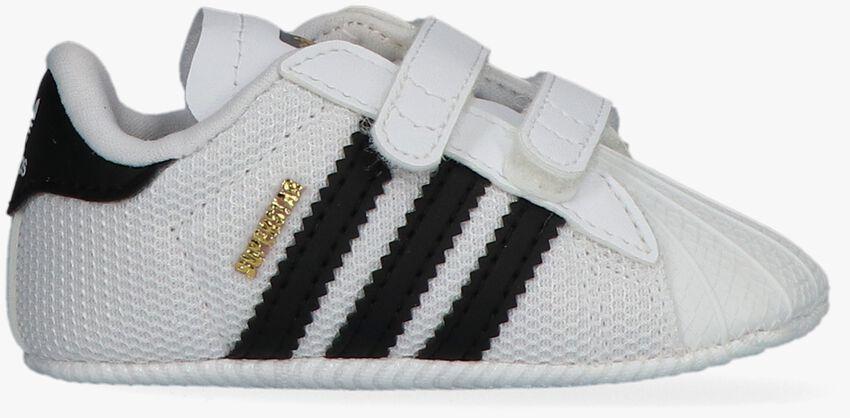 ADIDAS Chaussures bébé SUPERSTAR CRIB en blanc - larger