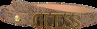 Camel GUESS Riem NOELLE ADJUSTABLE PANT - medium