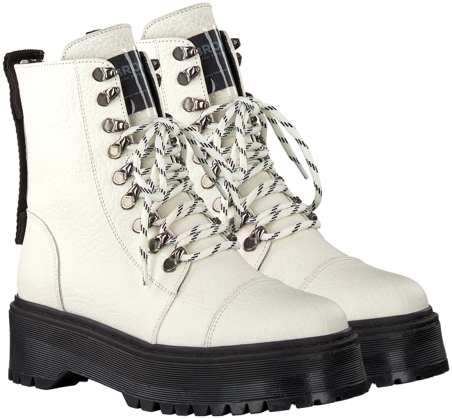 Witte BRONX Veterboots RIFKA SUPER CHUNKY 47232  - large