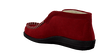 ROHDE ERICH Chaussons 2176 en rouge - small
