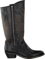 Zwarte CATARINA MARTINS Cowboylaarzen BENDITA ZIP HIGH  - medium