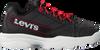 Zwarte LEVI'S Lage sneakers SOHO  - small
