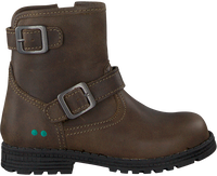 Taupe BUNNIES JR Biker boots TINA TROTS - medium