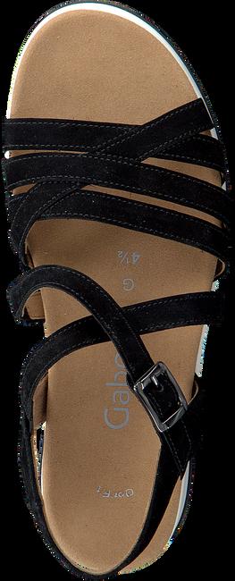 GABOR Sandales 744.3 en noir  - large