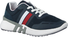 Blauwe TOMMY HILFIGER Lage sneakers LIGHTWEIGHT CORPORATE TH RUNNER  - small