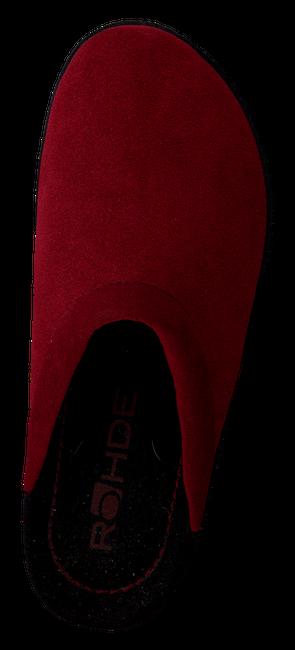 ROHDE ERICH Chaussons 2292 en rouge - large