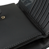 GUESS Porte-monnaie BRIGHTSIDE SLG DBL ZIP ORGNZR en noir  - small