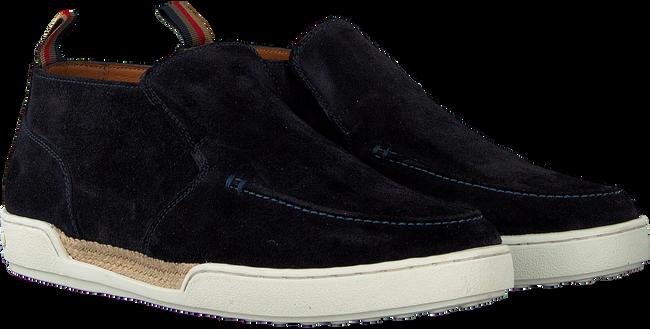 MAZZELTOV Chaussures à enfiler 51126 en bleu  - large