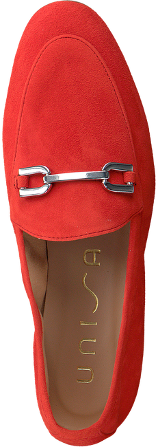 UNISA Loafers DALCY en rouge  - large