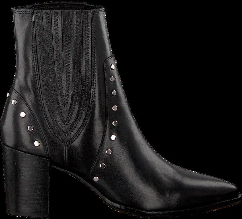 Zwarte BRONX Enkellaarsjes 33999 - larger