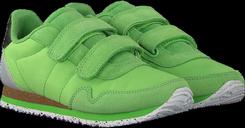 WODEN Baskets basses NOR SUEDE en vert  - larger