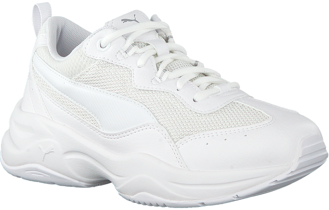 PUMA Baskets CILIA en blanc  - large