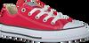 CONVERSE Baskets CTAS OX KIDS en rouge - small