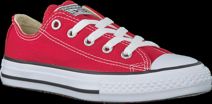 CONVERSE Baskets CTAS OX KIDS en rouge - larger