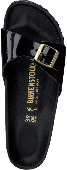 BIRKENSTOCK PAPILLIO Tongs MADRID en noir - large