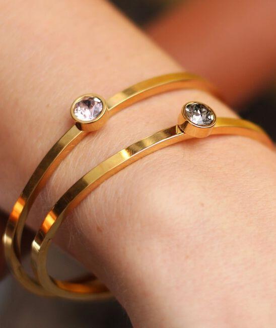 MY JEWELLERY Bracelet LITTLE STONE BANGLE en or - large