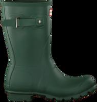 Groene HUNTER Regenlaarzen WOMENS ORIGINAL SHORT - medium