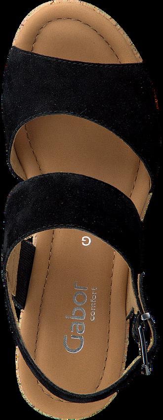 GABOR Sandales 777.1 en noir  - larger