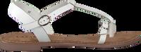 LAZAMANI Sandales 75.501 en blanc  - medium
