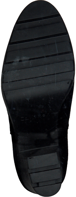 Zwarte CALVIN KLEIN Enkellaarsjes SANDY  - large