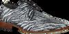 Grijze REHAB Nette schoenen GREG CROCO ZEBRA  - small