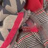 NOTRE-V Foulard CAITLIN en rouge  - small