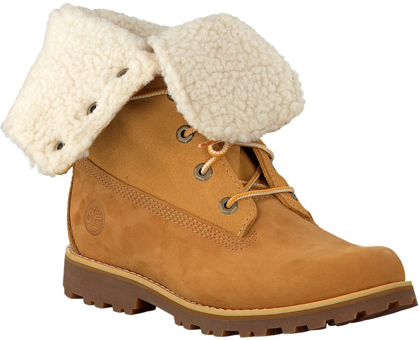 Camel TIMBERLAND Enkelboots 6IN WP SHEARLING BOOT  - larger