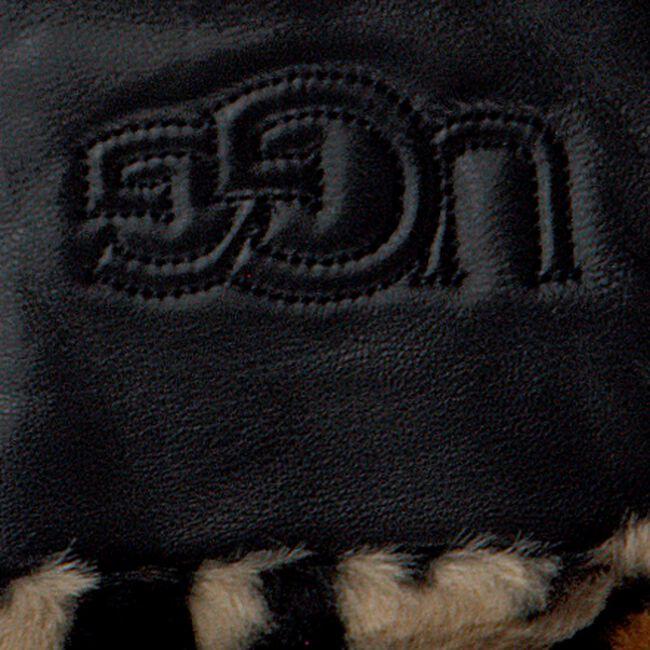 Zwarte UGG Handschoenen CUFF LOGO TECH  - large