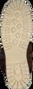 BJORN BORG Bottines à lacets KENNAH HIGH en cognac  - small