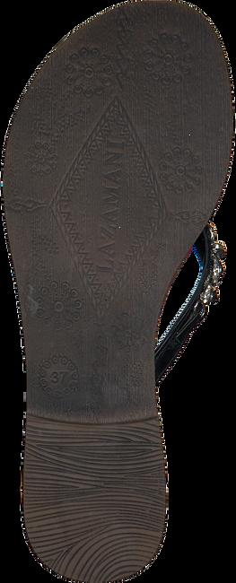LAZAMANI Tongs 75.341 en noir - large