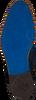 REHAB Bottines à lacets SALVADOR ZIG ZAG en bleu - small