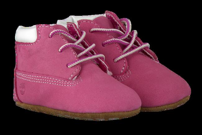 TIMBERLAND Chaussures bébé CRIB BOOTIE W/HAT en rose - large