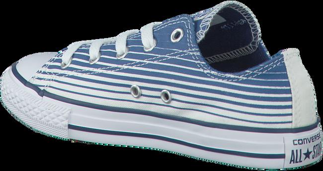 Blauwe CONVERSE Sneakers CTAS STRIPE KIDS  - large