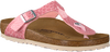 BIRKENSTOCK Tongs GIZEH MAGIC SNAKE en rose - small