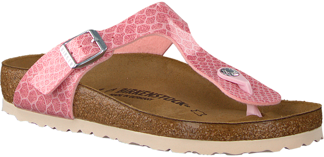 BIRKENSTOCK Tongs GIZEH MAGIC SNAKE en rose - large